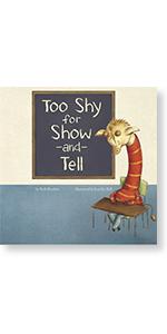 preschool growing up giraffe show and tell capstone socializing skills shy learning children