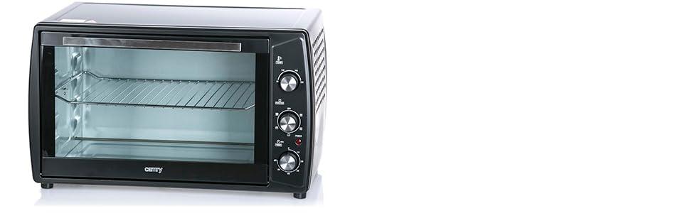 Camry CR-6017 Horno de Sobremesa Eléctrico, 63 Litros, 3000W, Pincho Giratorio