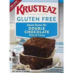 Amazon.com : Krusteaz Gluten Free Double Chocolate Brownie