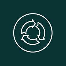 Visual 4: Recycle/Sustainability icon