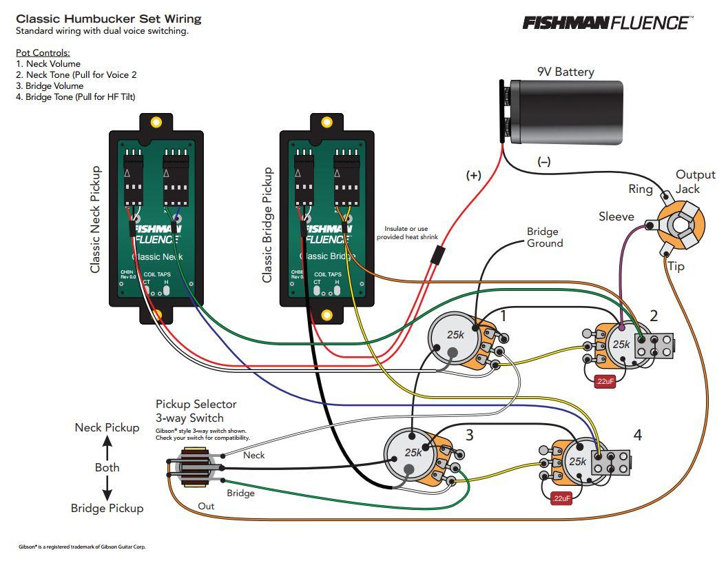Fishman    Wiring       Diagram         Wiring       Diagram