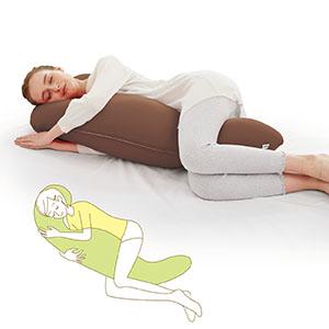 気持ちいい抱きまくら MOGU 横向き寝