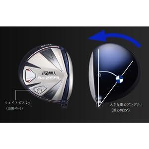 本間ゴルフ ドライバー Be ZEAL ビジール 535 ドライバー VIZARD for Be ZEAL シャフト カーボン メンズ