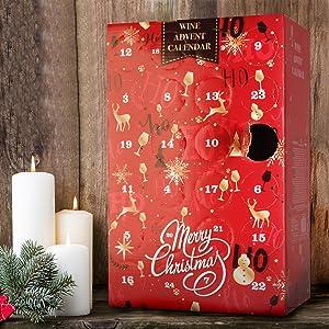 Calendrier D Avent.Calendrier De L Avent Vins Assortiment De Vins Et De Vins Petillants Noel Lot De 24