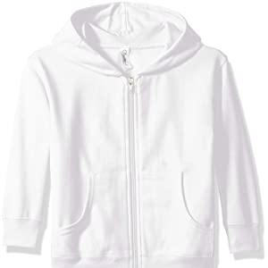 Clementine Girls Apparel Toddlers Fleece Pullover Hood Hooded Sweatshirt