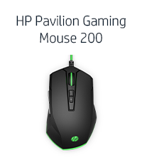 HP Pavilion Gaming Mouse 200 (Delice, 5JS07AA)