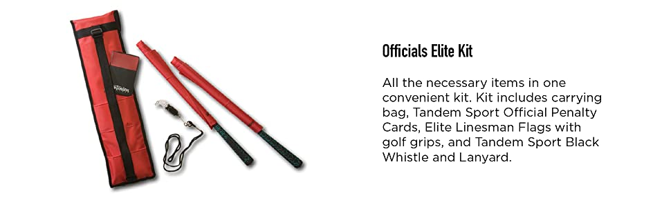 officals, elite kit, volleyball, penalty cards, linesman flags, black, whistle, lanyard, sports