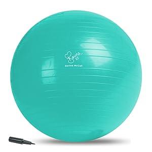 Davina McCall Exercise Ball Bola Y Bomba DE Ejercicio, Unisex ...
