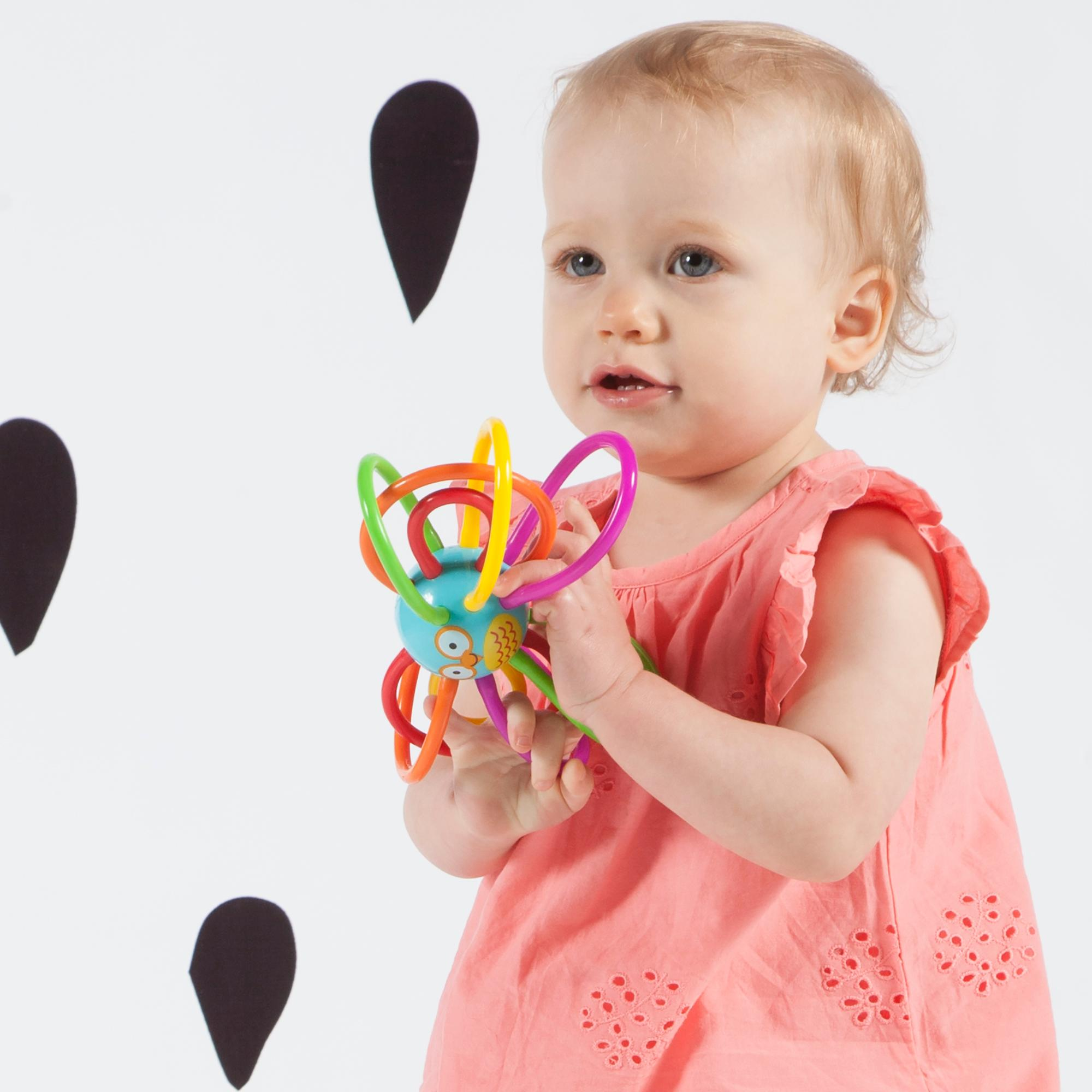 Amazon Manhattan Toy Zoo Winkel Owl Rattle and Sensory