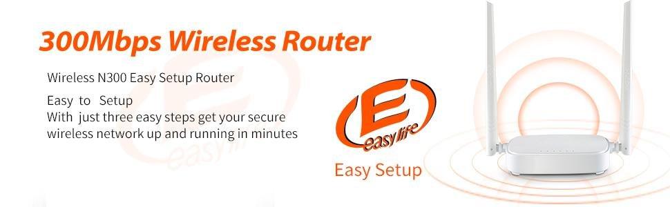 easy setup router