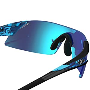 30db5a3e92 Amazon.com  Tifosi Podium Xc Matte Black Interchangeable Sunglasses ...