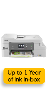 Brother Mfcj995dw Wireless Color Printer With Scanner