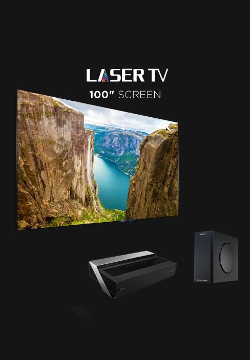 100 INCH LASER TV