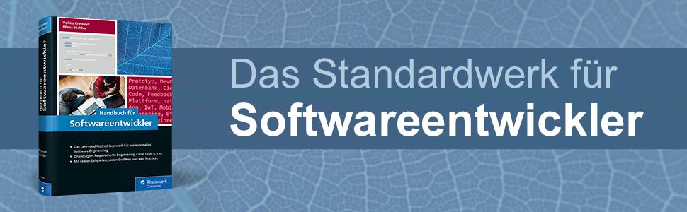 Rheinwerk Verlag Handbuch für Softwareentwickler