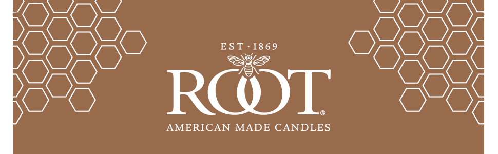 root beeswax candles made in medina ohio