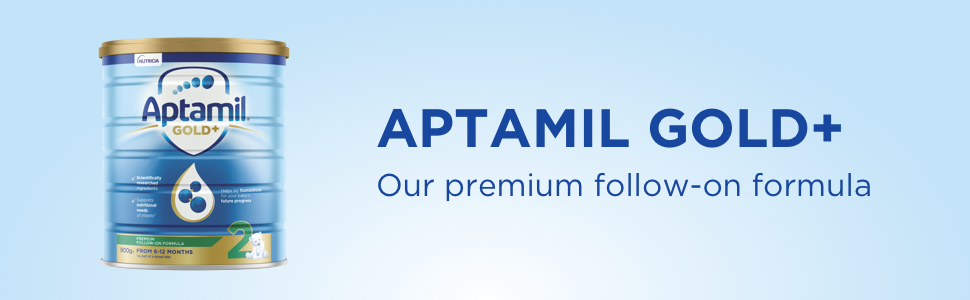 Aptamil Gold+ Our Premium Follow-On Formula