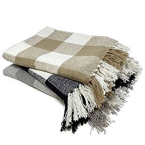 Buffalo Check Throw Blankets