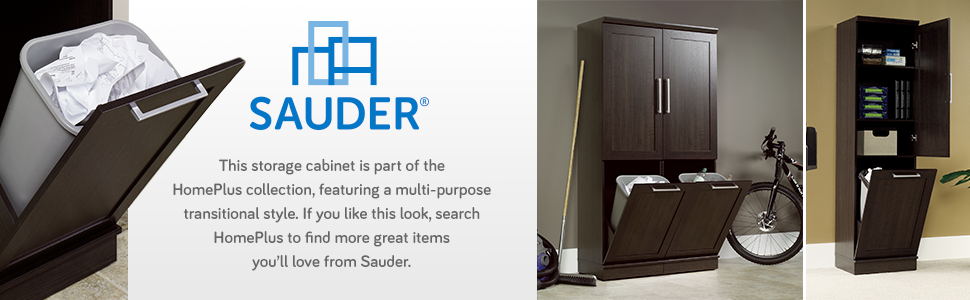 Sauder Homeplus Storage Cabinet, Dakota Oak: Amazon.ca: Home & Kitchen