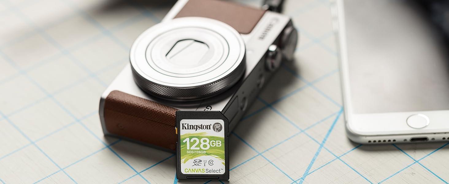 Amazon.com: Kingston Canvas Select 32GB SDHC Class 10 SD ...