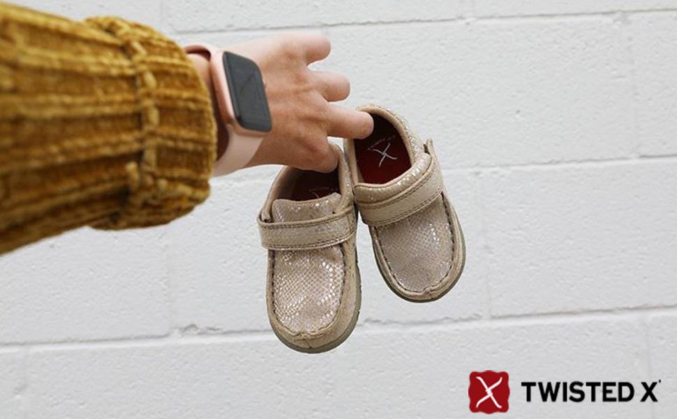 Twisted X Infant-Chukka-Driving-Moc