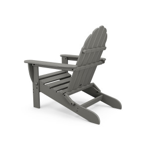 Image showing the back of a slate adirondack chair