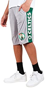 Ultra Game NBA Mens French Terry Shorts