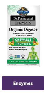 organic digest enzymes chewable