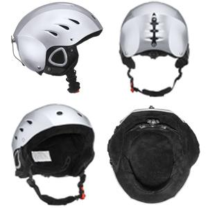 lucky bums snow sport fleece lined helmet