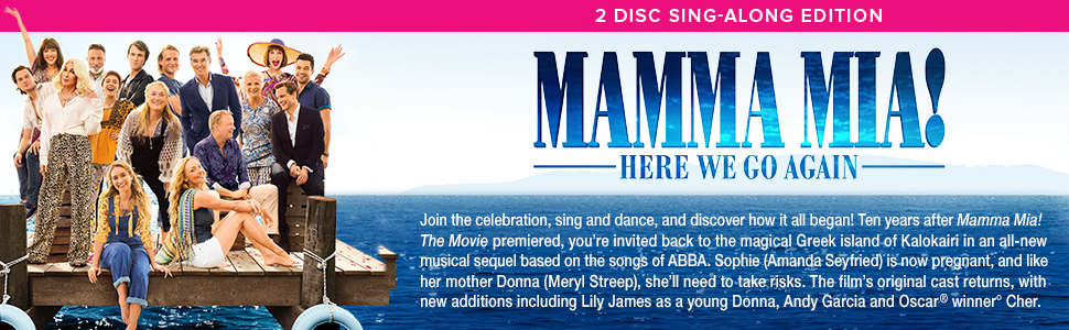 mamma mia here we go again sing along version 2