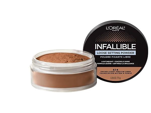 tinted face makeup setting powder