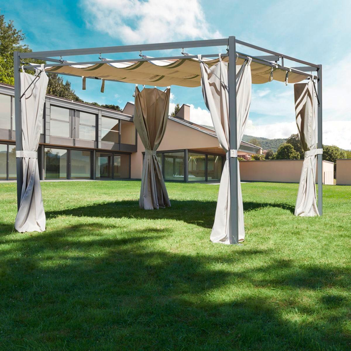 greemotion pavillon dallas anthrazit beige. Black Bedroom Furniture Sets. Home Design Ideas