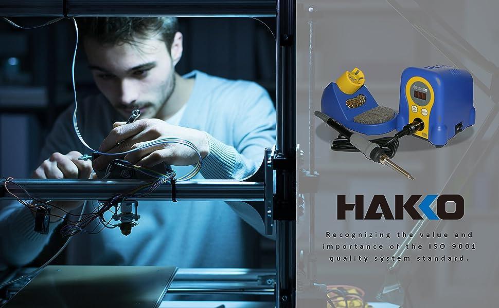 Hakko soldering iron gun kit station wire iron kit flux copper accessories