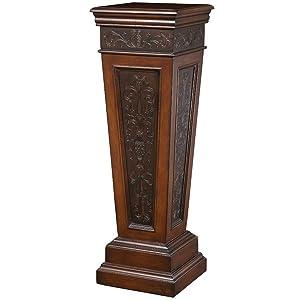 Amazon Com Pulaski Pedestal Table Kitchen Amp Dining