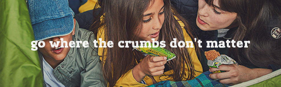 Go where the crumbs don't matter banner