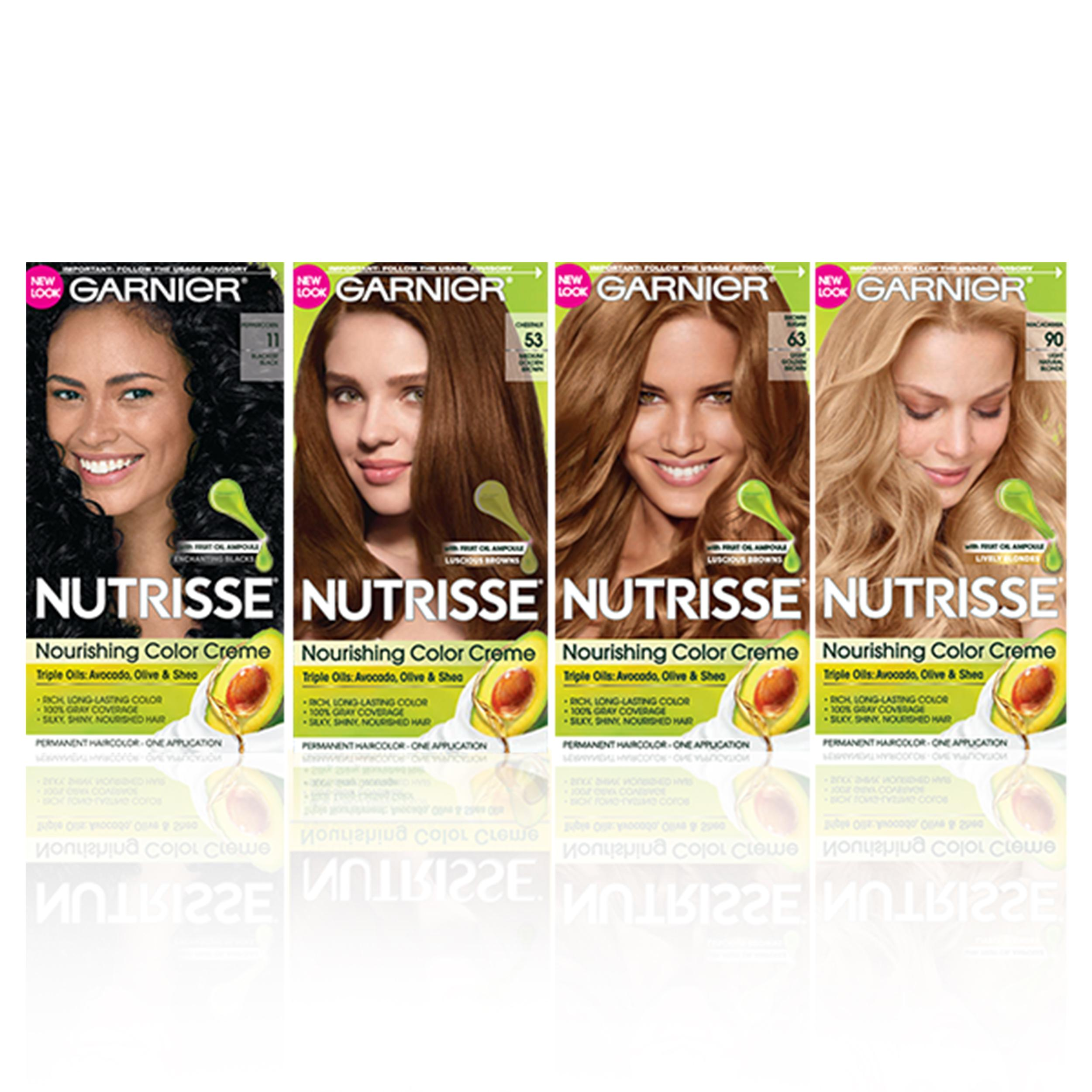 Amazon Garnier Nutrisse Nourishing Color Creme 61 Light Ash