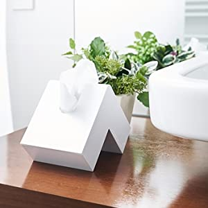 フォリオ ティッシュケース デザイン コンパクト スリム シンプル スタイリッシュ 縦置き 横置き アッシュコンセプト プラスディー 二つ折  キッチン 洗面 インテリア