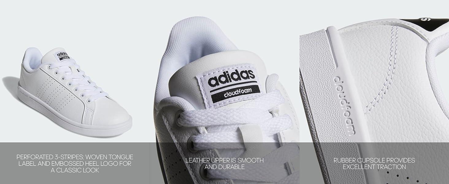 needle evening goose  Amazon.com | adidas Women's Cloudfoam Advantage Cl Sneaker | Fashion  Sneakers