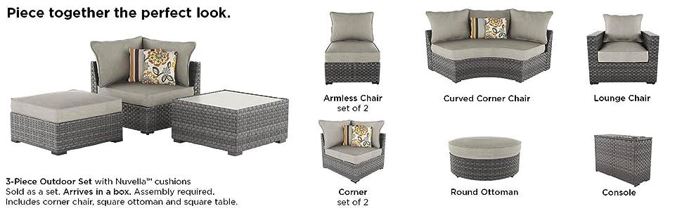 amazon com ashley furniture signature design spring dew