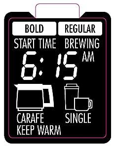 coffee maker makers machine mr. programmable