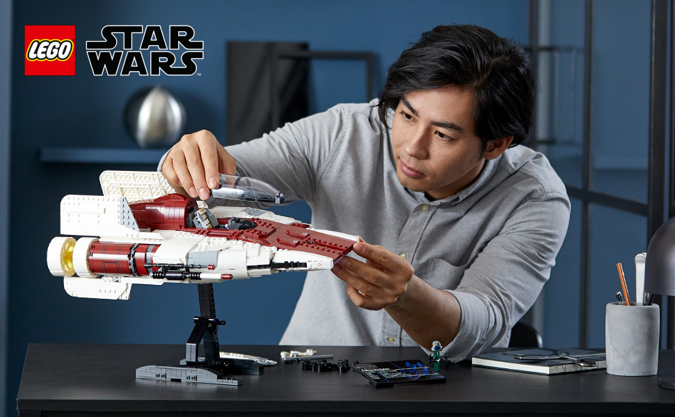 A-Wing Starfighter Lego 75275 - Building the set