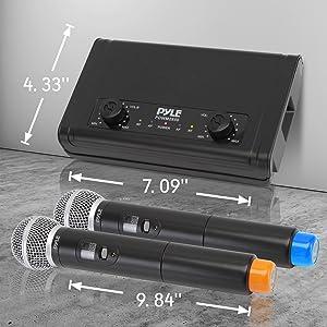 Wireless Microphone, Wireless Mic, Handheld mic, Karaoke Mic, Microphone set, Mic with Reciever