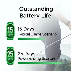 Long Lasting Battery Life Band 5 Fitness Tracker