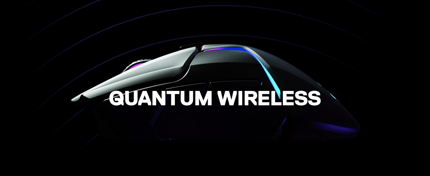 SteelSeries Rival 650 - Ratón de juego inalámbrico Quantum Wireless - Sensor óptico dual 12 000 CPI