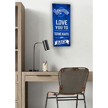 Indiana State Sycamores Love You To College Logo Plaque
