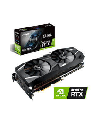 Amazon.com: ASUS Dual RTX2080 A8G VR Ready Gaming Graphics ...