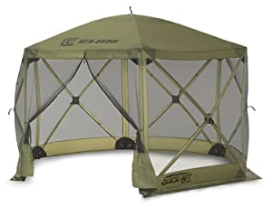 Clam Outdoors Quick-Set Escape Screen Shelter 140 X 140-Inch  sc 1 st  Amazon.com & Amazon.com : Clam Corporation 9281 Quick-Set Escape Shelter 140 X ...