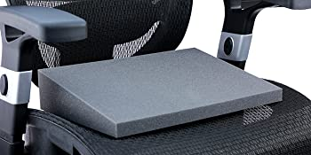 stress relief wedge foam chair back spine cushion