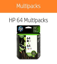 HP 64 Black & Tri-color