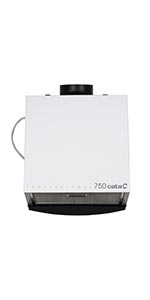 Cata Professional 750 L - Extractor centrífugo de cocina, 185 W, color blanco y gris: Amazon.es: Grandes electrodomésticos