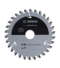bosch professional, Standard for multimaterial, trä, cirkelsågklinga, sladdlös cirkelsåg